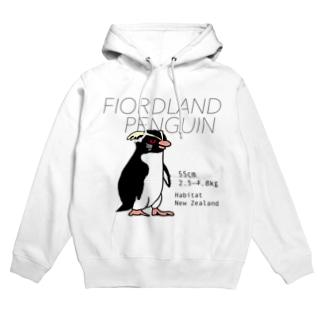 フィヨルドランドペンギン Hoodies