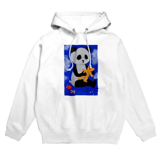 Washiemon and Ai-chan's ShopのPANDA No.2 Hoodies