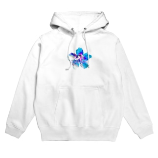 Flower-Sky② Hoodies