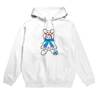 くまーみシリーズ Hoodies