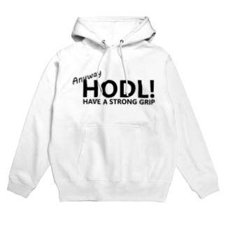 HODLデザイン Hoodies