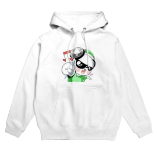 GOシロクマ Hoodie