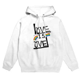 LOVE IS LOVE Hoodies