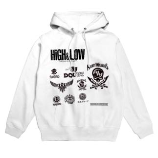 HIGH&LOW Hoodies