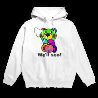 オリジナルデザインTシャツ SMOKIN'の一服モクモックマ  カラフル  Hoodies