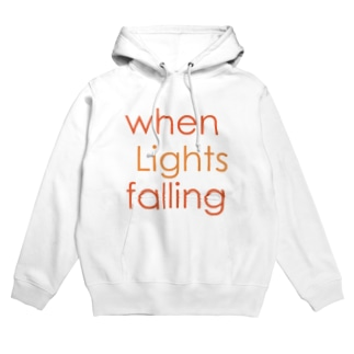 when Lights falling Hoodies