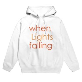 when Lights falling Hoodies