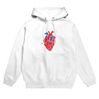 みんなの心臓 Hoodies
