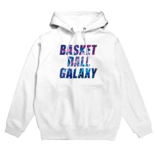 BASKETBALL GALAXY Hoodies
