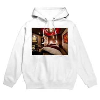 love&hotel room1 Hoodies