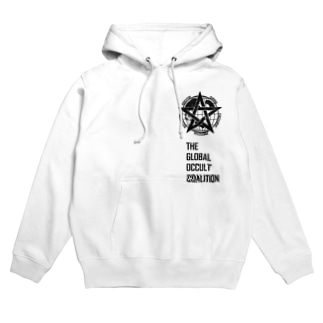 GOCロゴグッズ-黒[SCP Foundation] Hoodies
