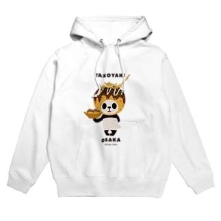 【大阪】たこ焼きパンダ Hoodie