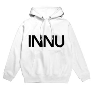 INNU (doge in Japanese) Hoodies