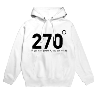 270度 Hoodies