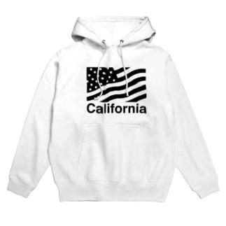 カルフォルニア Hoodies