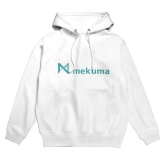 mekuma オリジナルグッズ Hoodies