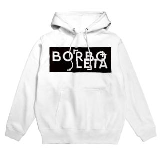 BORBOLETA -ボルボレッタ-のborboletra_base Hoodies