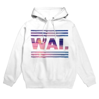WAIパーカー(サンセットピンク) Hoodies