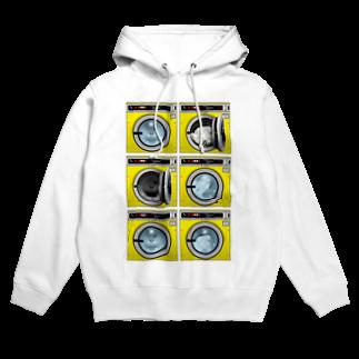 TOMOKUNIのコインランドリー Coin laundry【2×3】 Hoodies