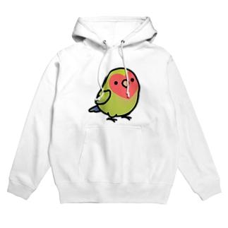 Chubby Bird コザクラインコ Hoodies