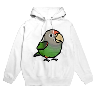Chubby Bird ハネナガインコ Hoodies