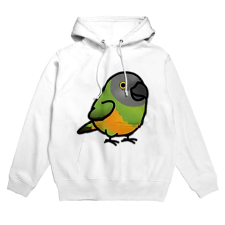 Chubby Bird ネズミガシラハネナガインコ Hoodies