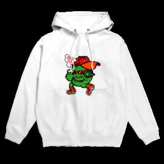 オリジナルデザインTシャツ SMOKIN'のBeanDJ Hoodies