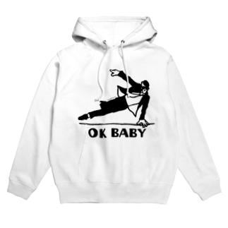 OK BABY Hoodies