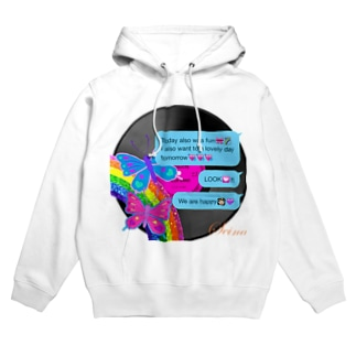 Butterfly World Hoodies