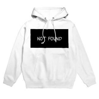 not found Hoodies