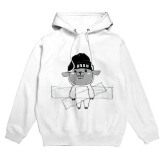 I.gasu sheep【アイガス】 Hoodies