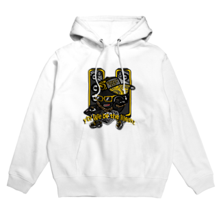オリジナルデザインTシャツ SMOKIN'の黒豆DJ Hoodies