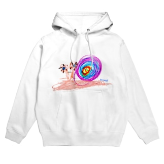 Bugs series -snail- Hoodies