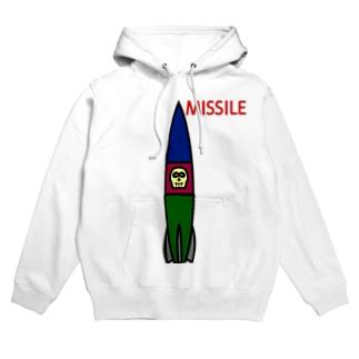 ミサイル Hoodies