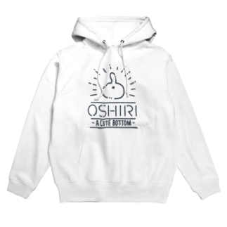 NEKO NO OSHIRI ネイビーライン Hoodies