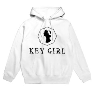 keygirl Hoodies