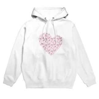 "Wagara Design ""Sakura pure heart"" Hoodies"