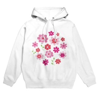 花の集い Hoodies