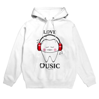 Tooth Music Red Hoodies