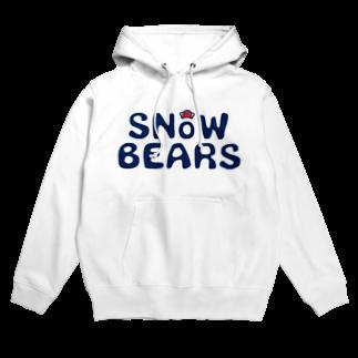 スノーベアーズのsnowbears.navy.logo Hoodies