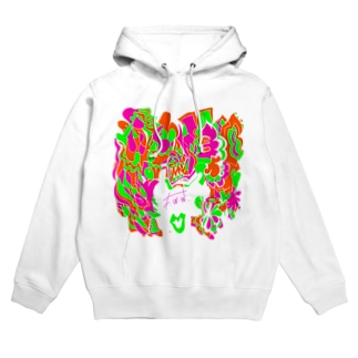 """Marble chocolate mango&melon&peach"" by F.W.W. Hoodies"