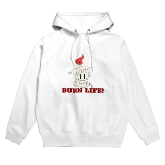BURN LIFE! Hoodies