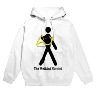 The Walking Hornist w/ Logo Hoodies