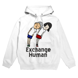 Exchange-Humanのななめな視線【EH】 Hoodies