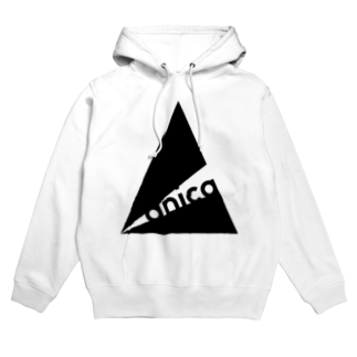 anica storeのanica name logo 2 Hoodies