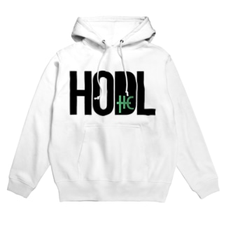 HODL THC blackfont Hoodies