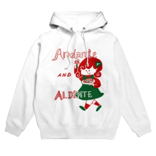 Andante AND ALDENTE Hoodies