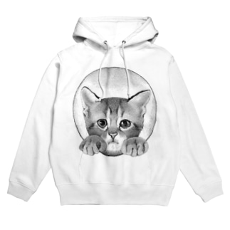 イタズラ子猫  Hoodies