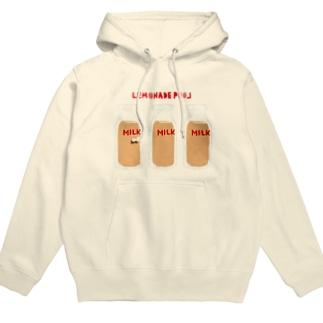 レモネードプールのコーヒー牛乳 Hoodies