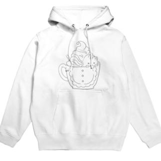Catpuccino Hoodies